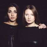 """Jaunosios """"3.14"""" dizainerės Ieva ir Paulina. Ievos Jūraitės nuotr."""