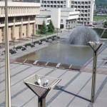 Seimo fontanas 1998 m., nuotr. G. Mačiulio