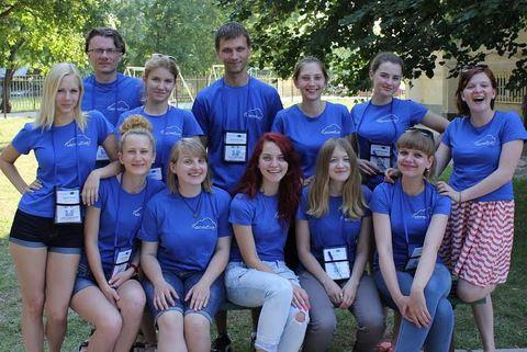 Dešimt Komunikacijos fakulteto studenčių kartu su dėstytojais dr. Andriumi Šuminu ir dr. Arūnu Gudinavičiumi dalyvavo dvidešimt antrajame Tarptautiniame studentų vasaros seminare. Andriaus Šumino nuotr.