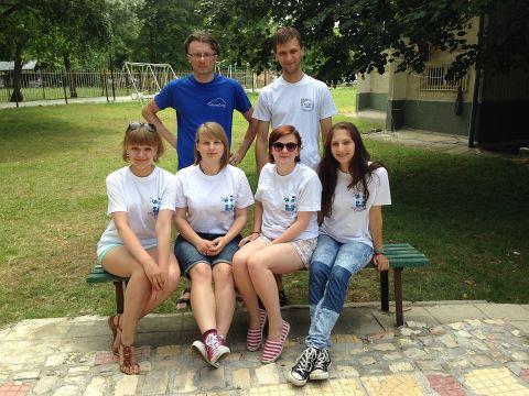 Komunikacijos fakulteto Studentų mokslinės draugijos nariai Bulgarijoje klausėsi paskaitų apie debesų kompiuteriją. Simonos Voveriūnaitės nuotr.