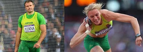 Iškart po sėkmingos Olimpiados kalbinti du Lietuvos olimpiniai čempionai – Austra Skujytė ir Virgilijus Alekna gavo skirtingus klausimus: olimpinės čempionės klausta, kada ji paskutinįkart bučiavosi, ar nėra slapta susižavėjusi savo treneriu, taip pat ar sutiktų pozuoti nuoga, o V. Aleknos – apie treniruotes, požiūrį į galimas reformas sporte, ateities tikslus.