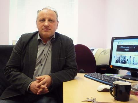 Ž. Pečiulis sako, jog netekusi komercinės reklamos LRT gali prarasti dalį žiūrovų. (I. Jurčenkaitės nuotr.)