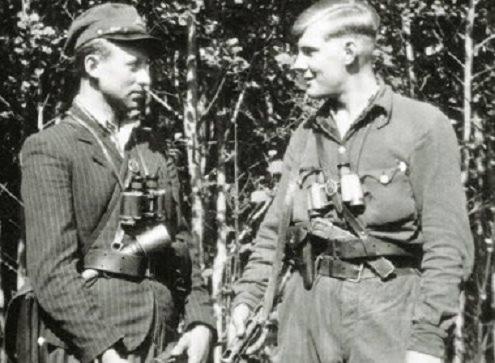 Partizanai. Iš R. Kauniečio surinktų nuotraukų archyvo
