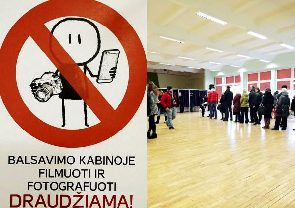 Paviešinę savo rinkimų biuletenio nuotrauką piliečiai net trims metams netenka teisės tapti rinkimų komisijos nariais.