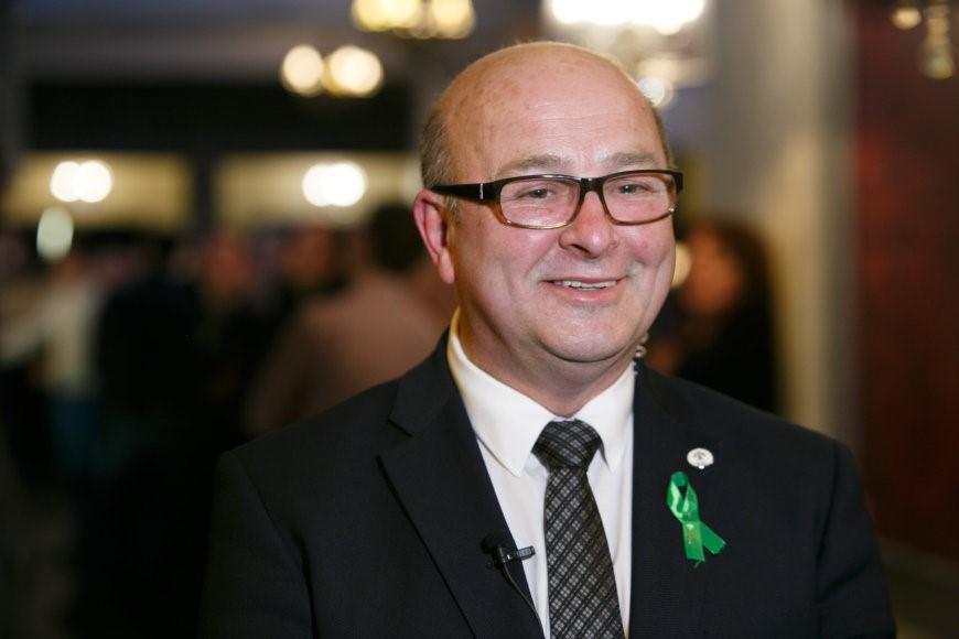 Naujasis Kauno meras Visvaldas Matijošaitis žada gerinti Kauno verslininkų padėtį, nors jo galios ir ribotos. Eriko Ovčarenko,15min.lt nuotr.