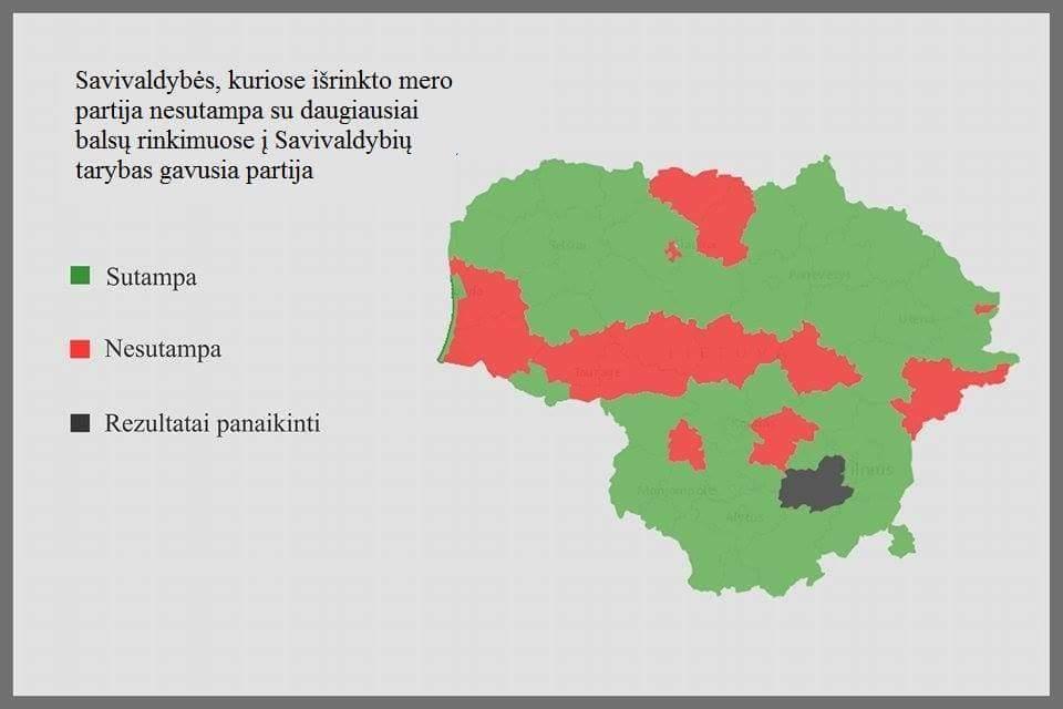 2015 m. rinkimų žemėlapis