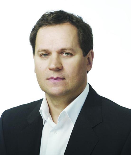 "V. Tomaševskis – ""Valdemaro Tomaševskio"" bloko lyderis (nuotr. oficiali politiko paskyra ""Facebook"")"