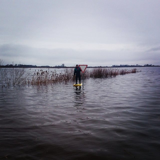 Potvynio gyventojai, gyvendami čia, tikrai niekada nesiskundžia. Kam per sunku, tas paprasčiausiai išsikrausto. Nuotr. iš asmeninio archyvo