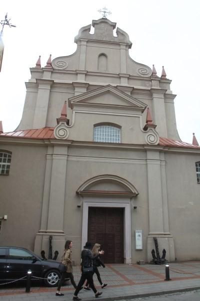 Šv. Ignoto bažnyčioje vyksta kariuomenės pamaldos. Autorės nuotr.