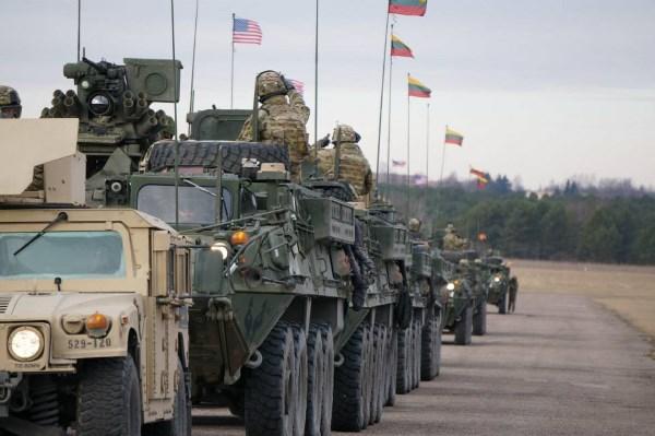 JAV kariuomenės apsilankymas