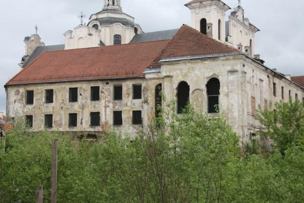 Apleistas šv. Ignoto vienuolynas. Autorės nuotr.