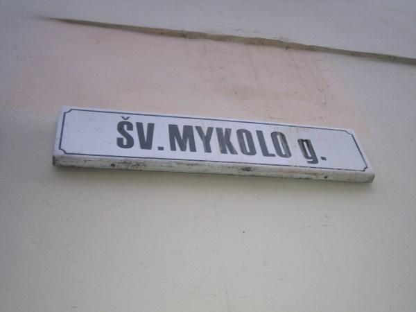 Šventojo arkangelo Mykolo vardu pakrikštyta tiek gatvė, tiek joje stovinti bažnyčia. Autoriaus nuotr.