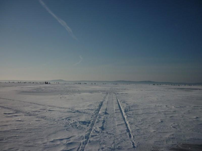 Kuršių marios žiemą. Monikos Dobrovolskytės nuotr