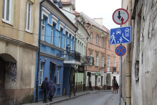 Čia įsikūrę vieni populiariausių restoranų ir kavinių Vilniuje. Autorės nuotr.