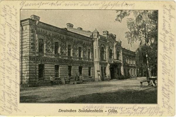 bataliono centrinė būstinė XIX a.