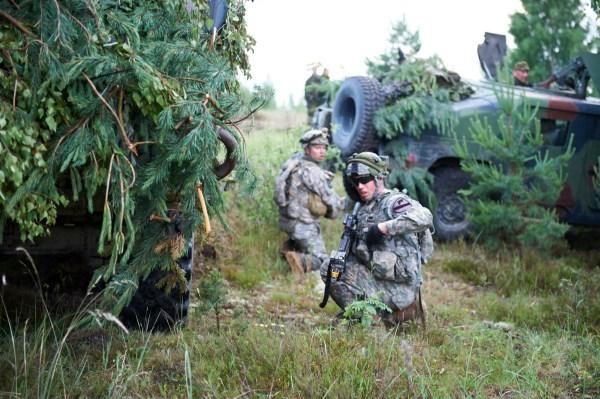 bataliono pratybos Alytaus rajone