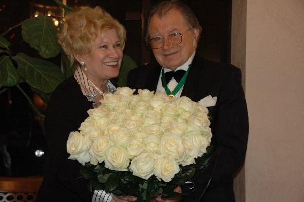 Maestro Mikalojus Novikas su žmona Irena Novikiene, asmeninio archyvo nuotr.