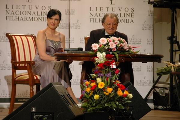 """M. Novikas turo ,,Žalioj stotelėje"""" metu. M. Noviko asmeninio archyvo nuotr."""