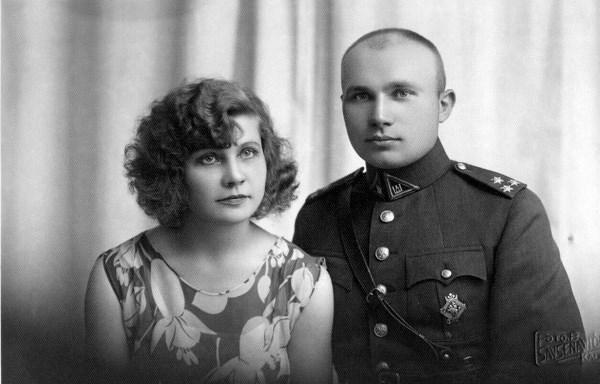 Ona ir Petras Katiliai. 1930m. Asmeninio archyvo nuotr.