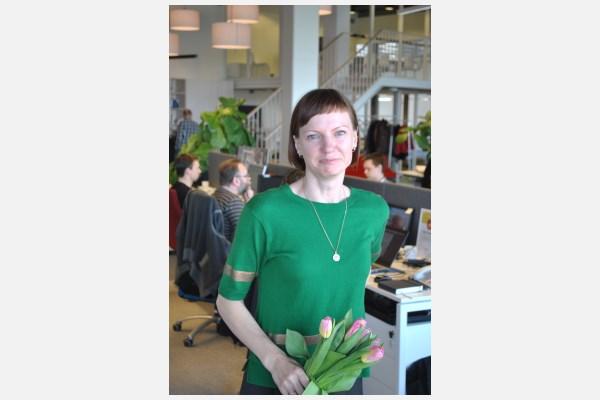 Monika Garbačiauskaitė-Budrienė. Autoriaus nuotr.