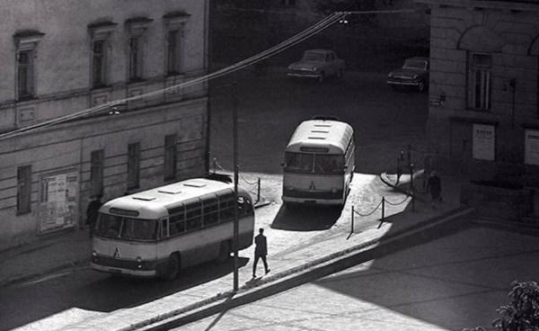 1963 m. Universiteto gatvė. Romualdo Rakausko nuotr.