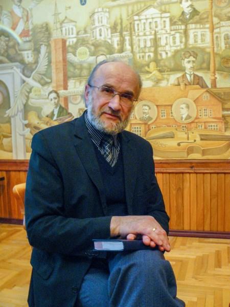 Vytautas Rutkauskas Oginskių istoriją tyrinėja nuo 1987 metų. Autorės nuotr.
