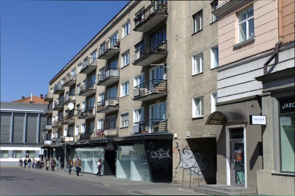 XIX a. šioje vietoje stovėjo pats aukščiausias pastatas visame Vilniuje. Autorės nuotr.