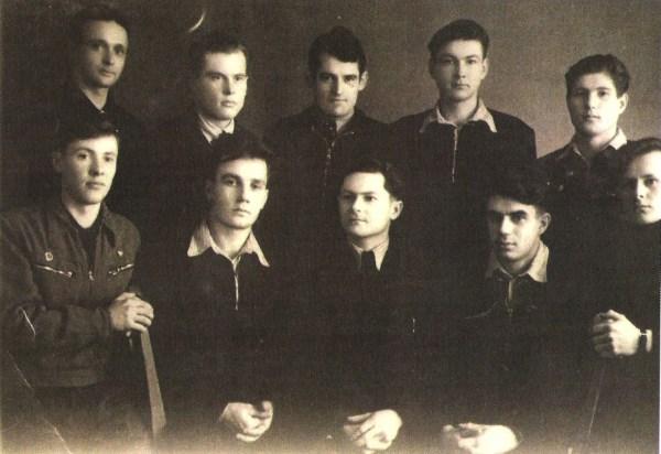1954 m. Parbige buvę lietuvių tremtiniai. Gendručio asmeninio archyvo nuotr.