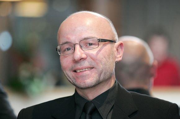 """Nacionalinės kultūros ir meno premijos laureatas, choro """"Jauna muzika"""" dirigentas Vaclovas Augustinas. BFL/Redo Vilimo nuotr."""