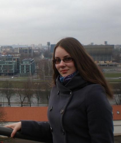 Vytautė Marija Petručionytė, Vilniaus universiteto Filologijos fakulteto studentė tiki, kad būti patriotišku žmogumi kilnu, deja, visuomenėje vyrauja nuomonė, kad dėl Tėvynės stengtis neverta. Asmeninio archyvo nuotr.