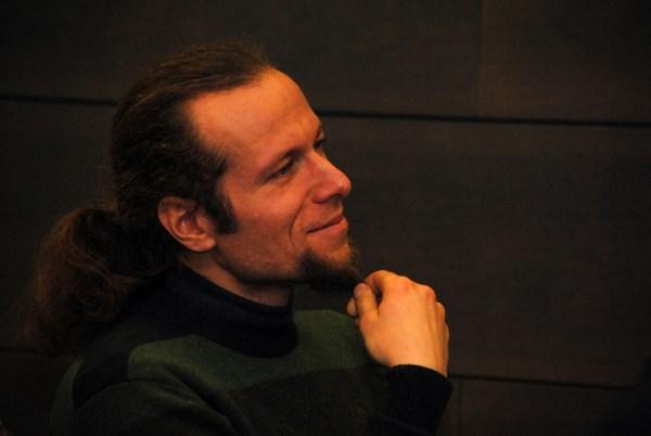 Literatūros kritiku M. Burokas savęs nelaiko, jam mielesnis literatūros apžvalgininko apibūdinimas. Benedikto Januškevičiaus nuotr.