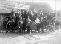 Didžiąją gaisrininkų komandos dalį sudarė žydų tautybės gelbėtojai(D. Končienės nuotrauka)