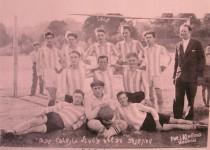 Viekšnių žydų futbolo komanda. D. Končienės archyvo nuotrauka