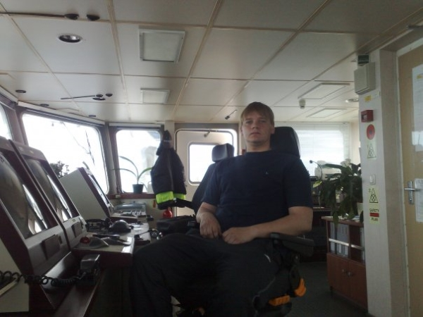 "Budėjimas laive ""Afra"" (jūroje)"