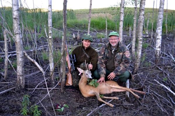 Raimondas Ribačiauskas ir Jelena Tučina medžiodami kartais praleidžia po kelis vakarus per savaitę. Autorės nuotr.
