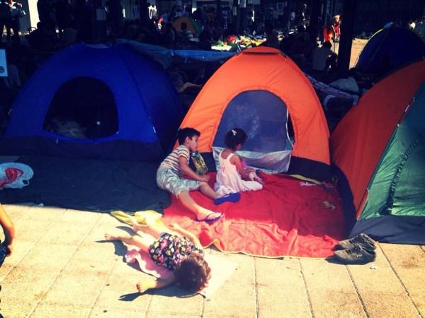Europos link traukia ir šeimos su mažais vaikais. Vijos Pakalkaitės nuotr.