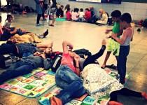 Laukimas – į Europą keliaujančių pabėgėlių palydovas. Vijos Pakalkaitės nuotr.