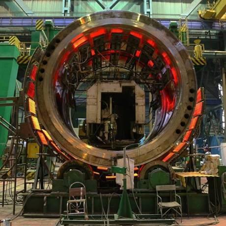 Astravo AE bus įdiegti iki šiol nenaudoti rusų gamybos reaktoriai AES -2006. Ergomash nuotr.