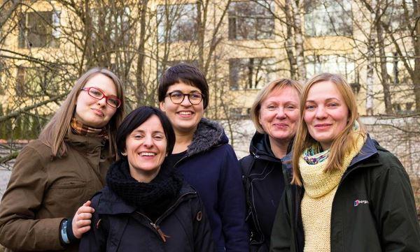 """""""Idėjų laboratorijos"""" komanda. M. Sosnovskio nuotr."""