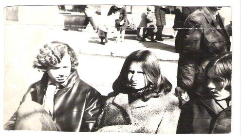 A.Vinokuras su draugais. Nuotrauka iš jo asmeninio archyvo