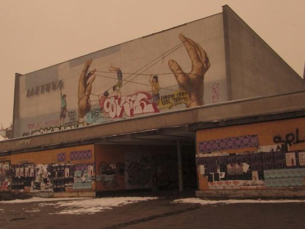 """Po dviejų metų kino teatras """"Lietuva"""" virs Moderniojo meno centru. Autorės nuotr."""