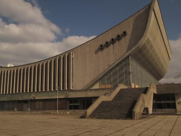 Sporto rūmai gali virsti kongresų centru, kuriame bus rengiamos tarptautinės konferencijos bei kultūriniai renginiai. Autorės nuotr.