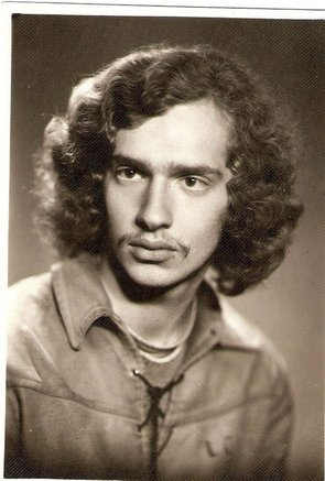 A.Vinokuras jaunystėje. Nuotrauka iš jo asmeninio archyvo