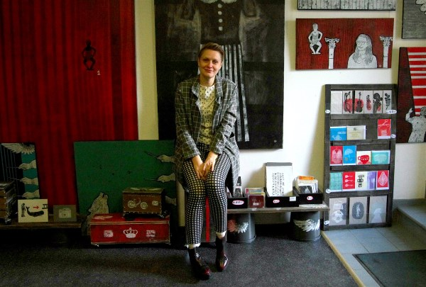 1. Menininkė Kristina Norvilaitė. Autorės nuotr. (pagrindinė nuotrauka)