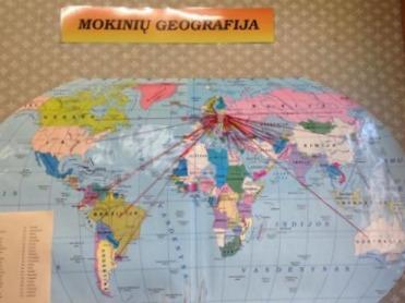 Mokinių geografija. Aut. Anastasija Kostiuk