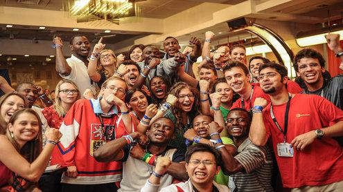 AIESEC organizacija vienija jaunimą 126 pasaulio šalyse. Šaltinis: aiesecus.org