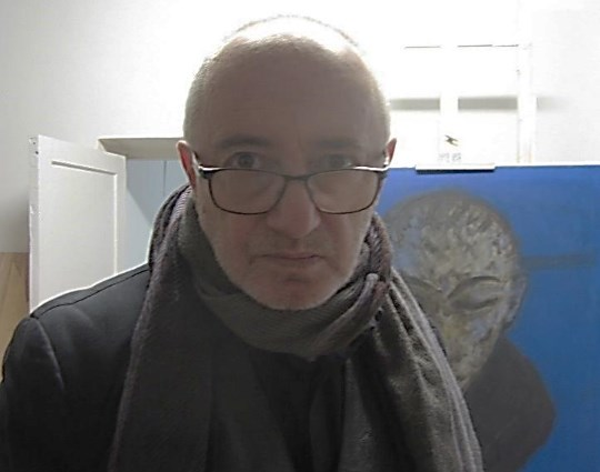 Scenografas ir tapytojas Adomas Jacovskis. Austėjos Mikuckytės nuotrauka.