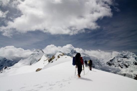 Kalnų žygis Cordillera Blanca kalnagūbryje Anduose, Peru. Asmeninio albumo nuotr.