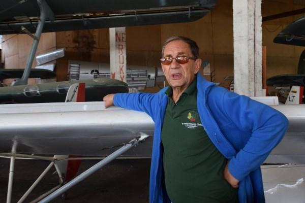 Vaikų sklandymo instruktoriumi Igoris Bykovas pradėjo dirbti tik sulaukęs pensinio amžiaus. Autorės nuotrauka.