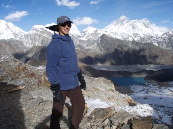 Himalajų kalnuose, Nepale. Asmeninio albumo nuotr.